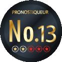Pronostiqueur n°13 du classement